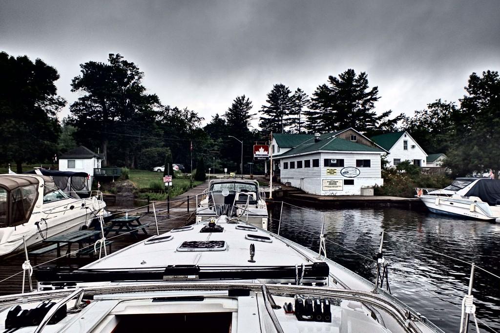 Port Stanton Marina.